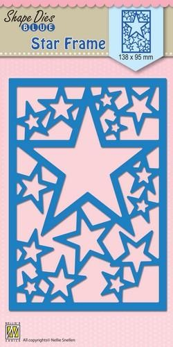 Shape dies blue: Star Frame