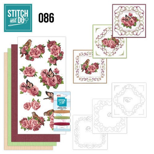 Stitch and do 86: Flowers