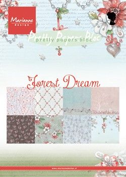 Pretty Papers bloc Forest Dream