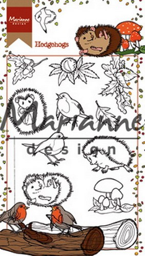 Clearstamp Hetty`s hedgehogs