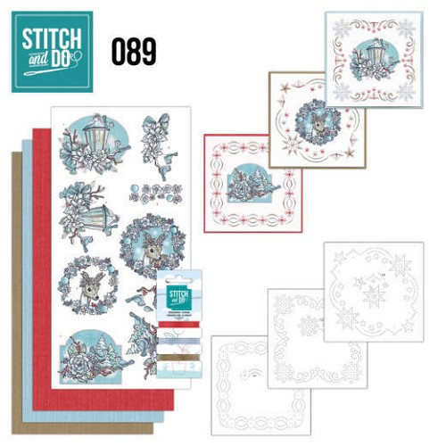 Stitch and do 89: Kerstdromen