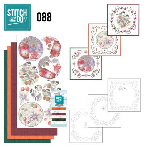 Stitch and do 88: Kerstbloemen
