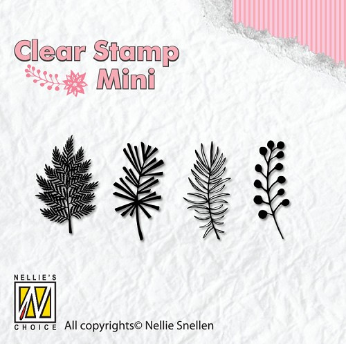 Clearstamp Christmas Branches 1