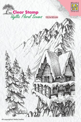 Clearstamp Winter Scene 2