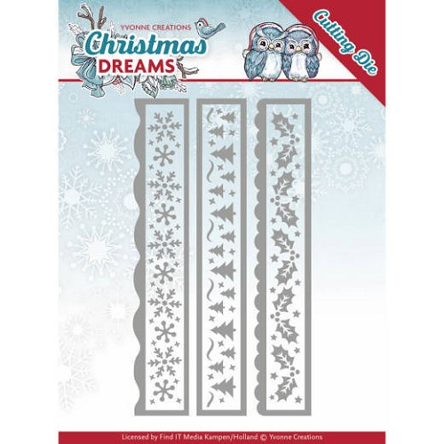 Christmas Dreams Dies: Christmas Borders