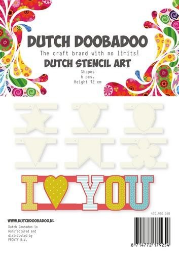 Dutch Doobadoo shapes