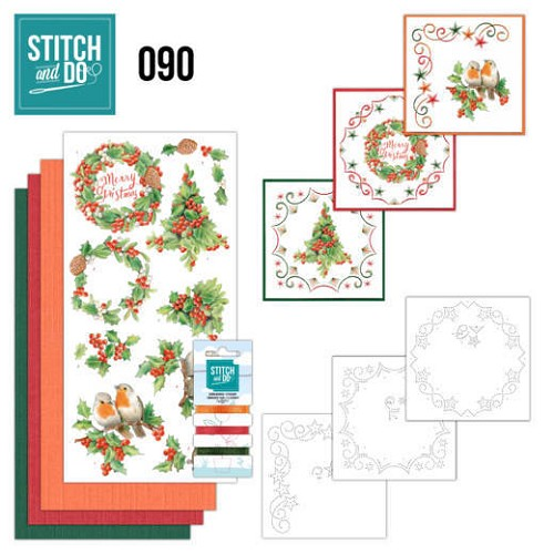 Stitch and do 90: Christmas