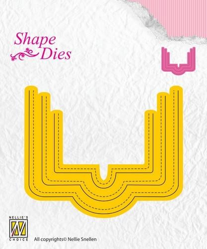 Shape Dies: Rectangle cover