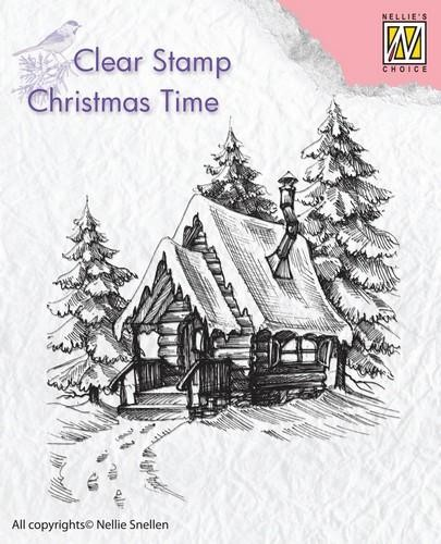 Clearstamp Christmas Time: Snowyhouse 2