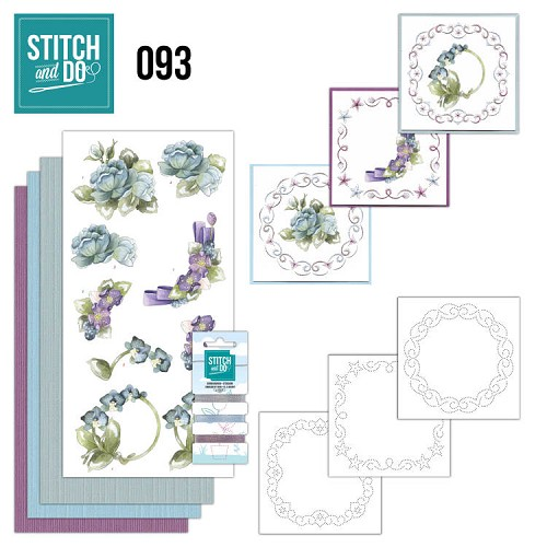 Stitch and do 93: Flowers