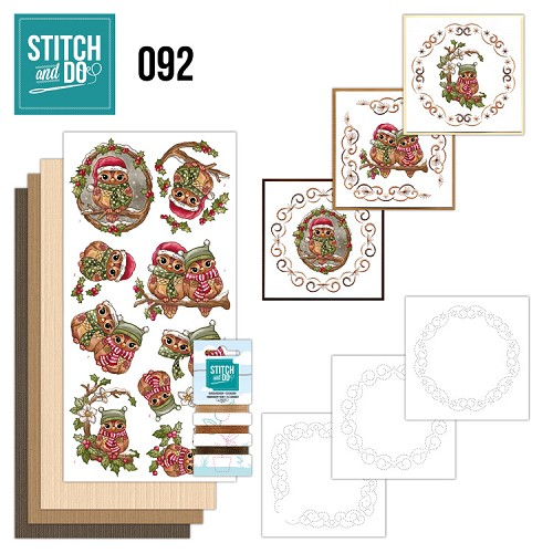 Stitch and do 92: Kerstuilen