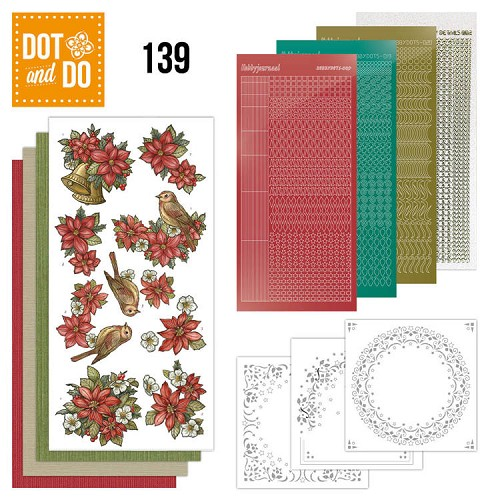 Dot & Do 139: Poinsettia kerstmis