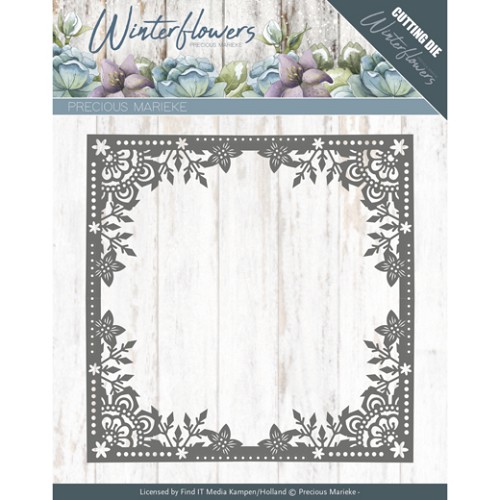 Winterflowers: Ice Flower Frame