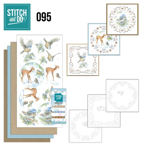 Stitch and do 95: Winter Bos
