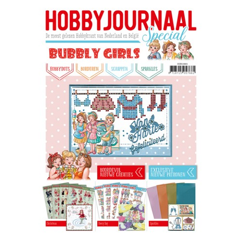 Hobbyjournaal specual Bubbly girls