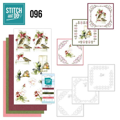 Stitch and do 96: Winter Birds