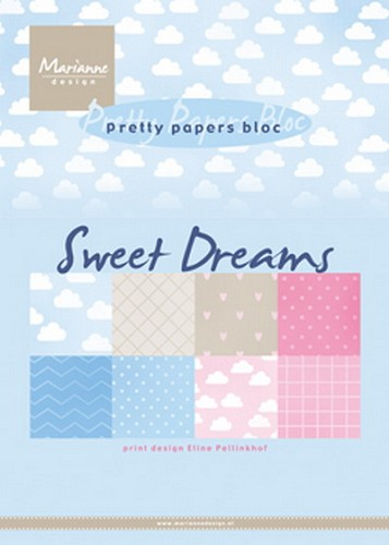 Pretty papers bloc: Sweet dreams