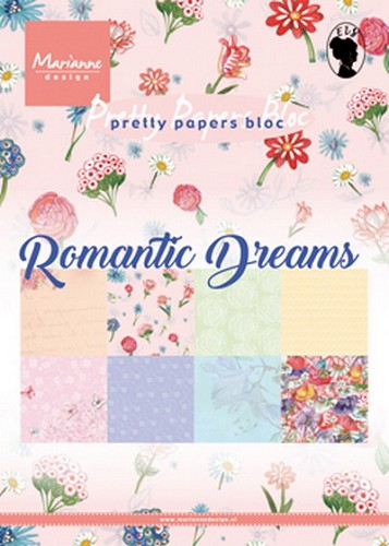 Pretty papers bloc: Romantic Dreams