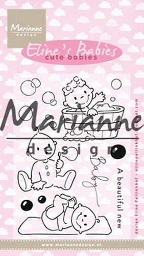 Clearstamp: Eline`s cute babies