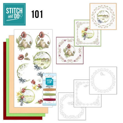 Stitch and do 101: Spring Life