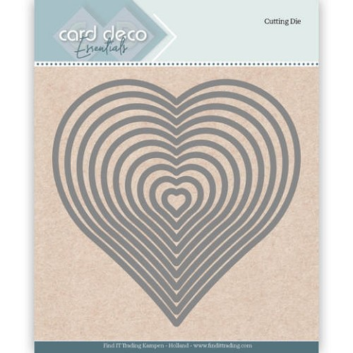 Card Deco essntials: Heart