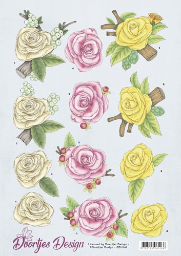 Doortje Design: Roses