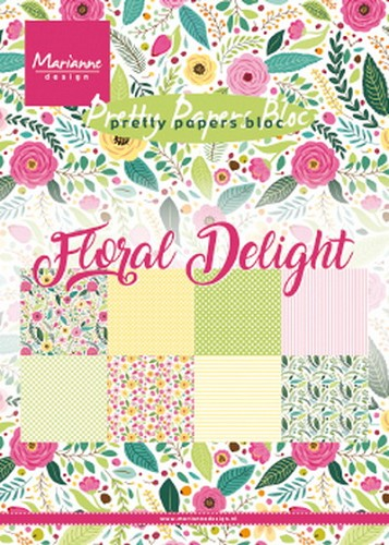 Pretty papers bloc: Floral Delight