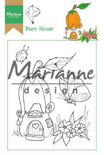 Clearstamp: Hetty`s Fairy House ( pre-order)