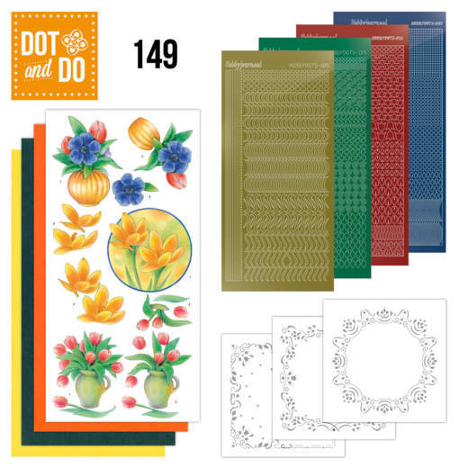 Dot & Do 149: Bouquet of flowers