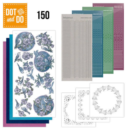 Dot & Do 150: Birds in Purple
