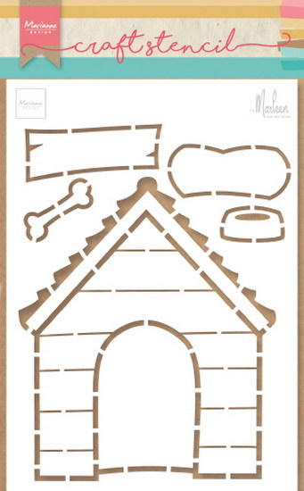 Craft Stencil:: Doghouse