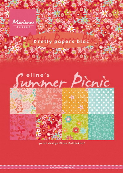 Pretty papers bloc: Eline's Summer picnic ( Pre-Order)
