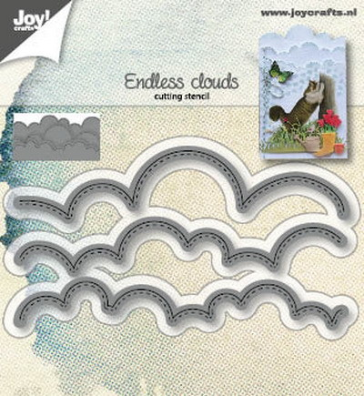 Joy Crafts: Wolken randen
