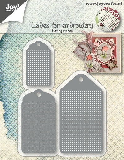Joy Crafts: Borduurlabels