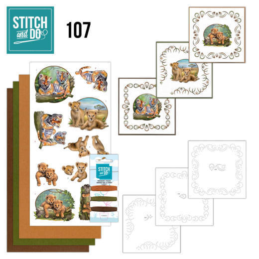 Stitch and do 107: Wild Animals