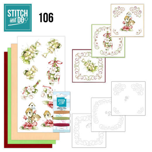 Stitch and do 106: Spring Flowers