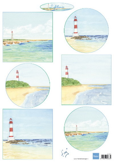 Knipvel: Tiny's Lighthouses