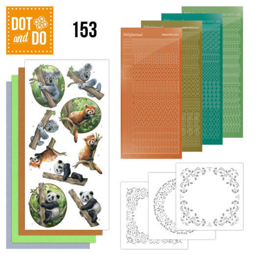 Dot and Do 153: Wild Animals