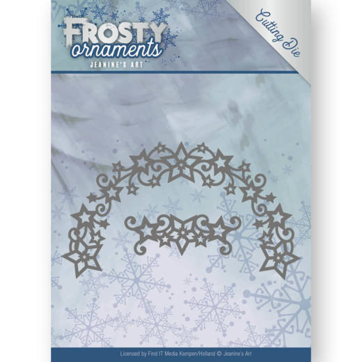 Jeanine's Art: Frosty Ornament