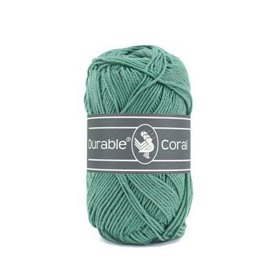 Durable Coral: Vintage green
