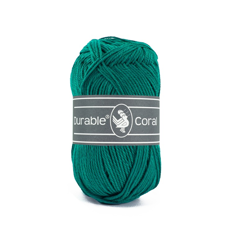Durable Coral: Tropical green