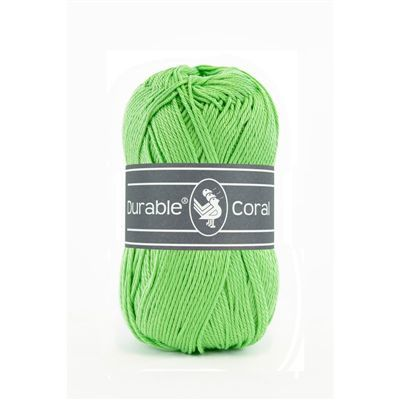 Durable Coral: Apple green