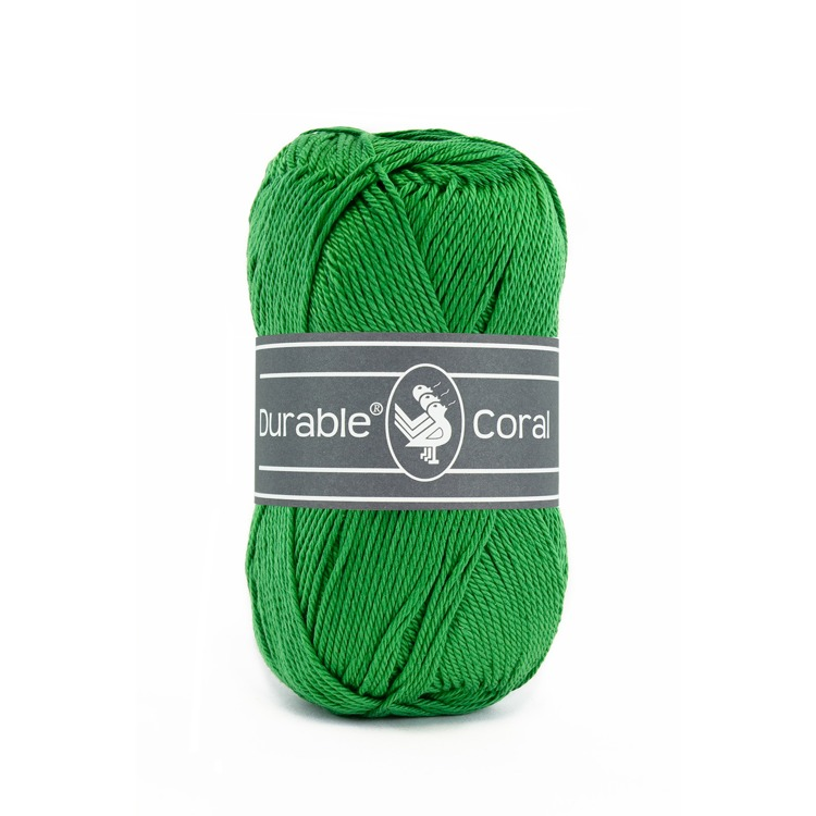 Durable Coral: Bright  green