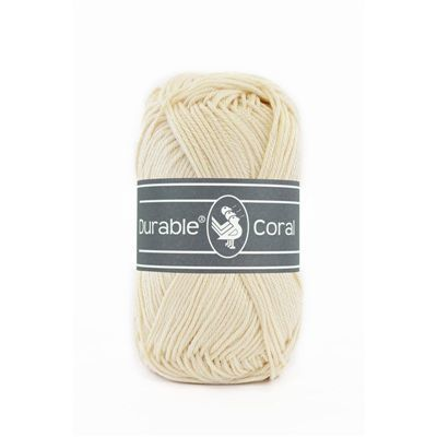 Durable Coral: Cream