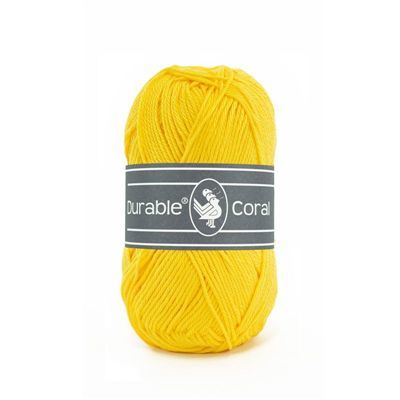 Durable Coral: Bright Yellow