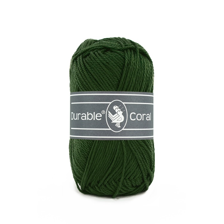 Durable Coral: Forest Green