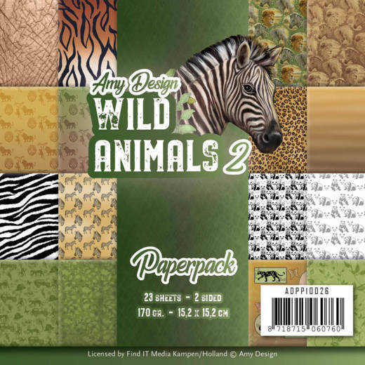Wild Animals: Paperpack