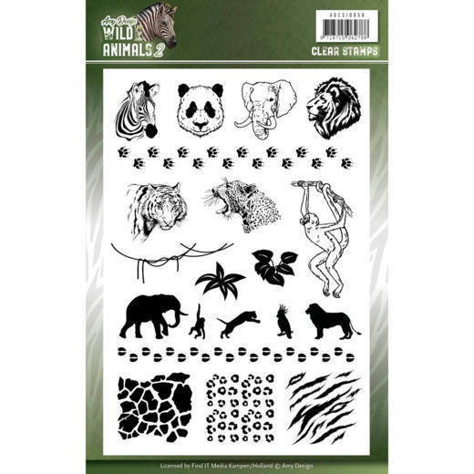 Wild Animals: Clearstamps