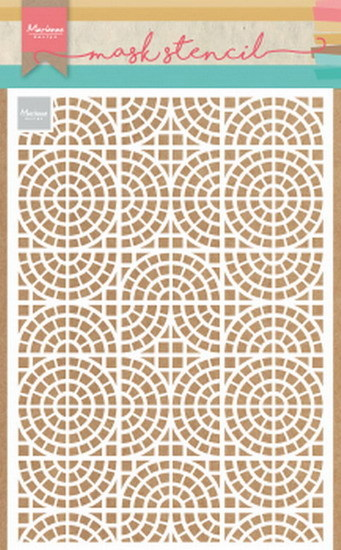 Craft Stencil: Mosaic tiles