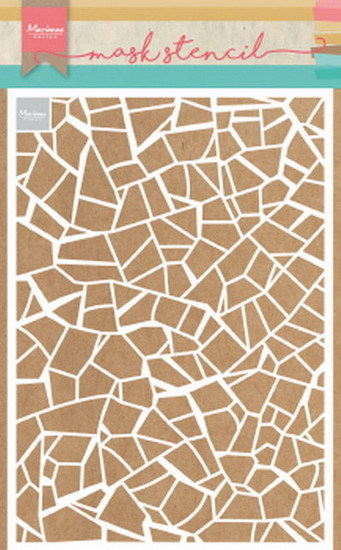 Craft Stencil: Broken tiles